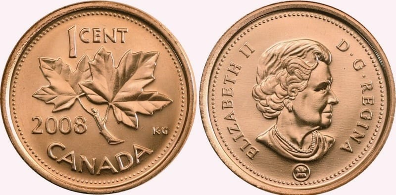 1 cent 2008