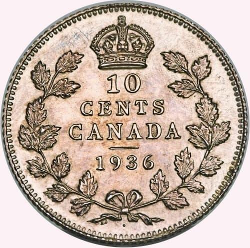 1936 Dot 10-Cent