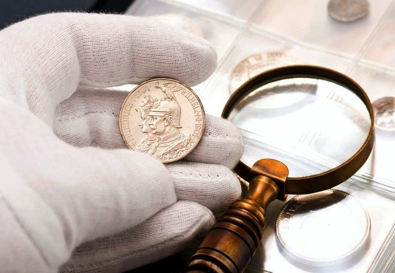 Tips for the care and storage of valuable Canadian coins